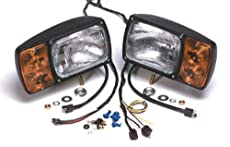 Grote Snowplow Lamp Kit with Five-Pole Heavy Duty Retrofit Extended Plug-In Harness 63455-4