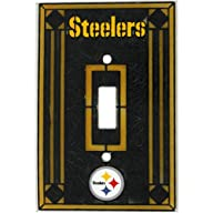 Pittsburgh Steelers Art Glass Light S…