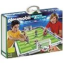 Playmobil - 4725 - Jeu de construction - Terrain de football et joueurs