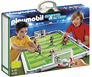 PLAYMOBIL Take Along Soccer Match Playset