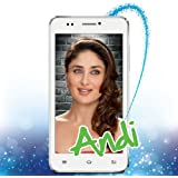 "iBall Andi 5K Sparkle ""White"" (Quad Core/3G/Video Call/IPS qHD)"