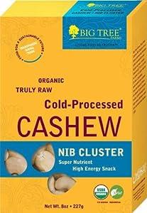 Big Tree Farms Organic Raw Cashew Nib Cluster, 9-Ounce