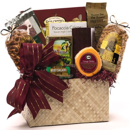 Art of Appreciation Gift Baskets -The Finer Things Gourmet Food Gift Chest