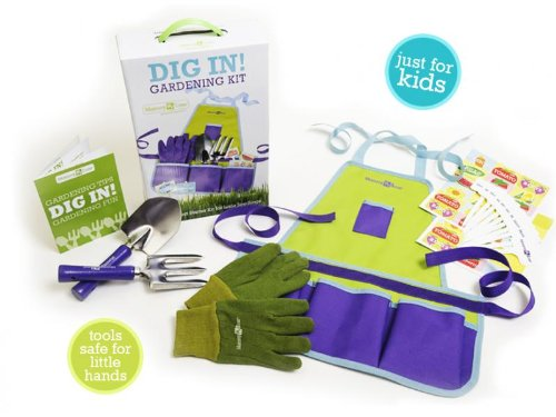 Mommy & Me Child Gardening Kit Dig In! Set