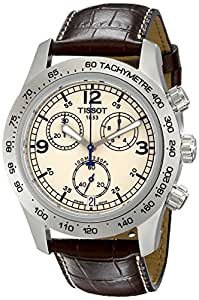 Tissot Men's TIST36131672 V-8 Ivory Dial Watch