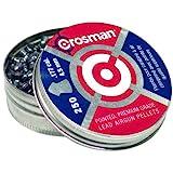 Balines Crosman de calibre 0.177, granos 7,4, con punta, 250 unidades.