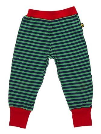 Rockabye-Unisex Baby Elastic Waist Trousers Navy/Green 0-3 Months