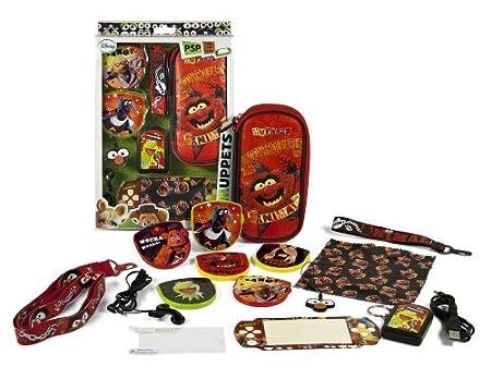 Kit d'accessoires 16 en 1 'Muppets' pour PSP