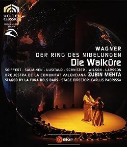 Wagner Die Walkure Die Walkure - Staged By La Fura Dels Baus Blu-ray 2008 by C Major