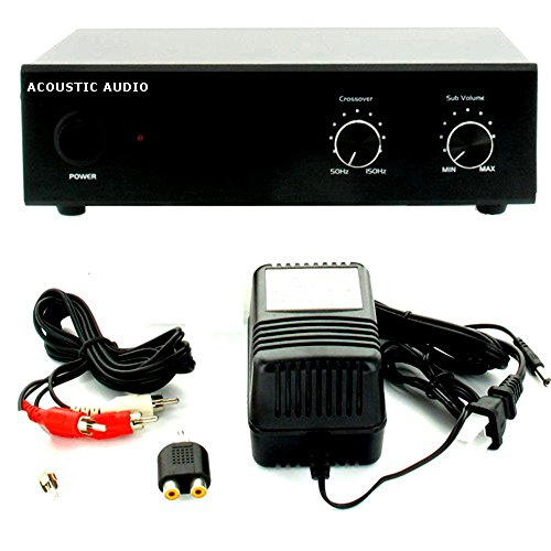 acoustic audio ws1005 low frequency passive subwoofer amplifier electronics components amplifiers. Black Bedroom Furniture Sets. Home Design Ideas