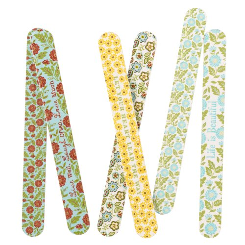 Grasslands Road Spring Meadow Nail File Assortment, 7-Inch, Set Of 72