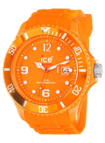 Ice-Watch Ice-Summer Collection poliammide e Sili SS.FO.B.S.11 Orologio da uomo, in Silicone, colore: arancione