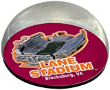 NCAA Virginia Tech Hokies Virginia Tech Stadium in Large 3-Inch Crystal Half-Moon Paperweight at Amazon.com