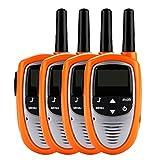 Floureon® 2 Pares T-328 Walkie Talkies 8 Canales UHF400-470MHZ 2-Vías Radio 3KM Rango Intercom