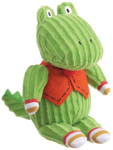 "Monkeez ""Oscar"" Mini Green Alligator Plush - 1"