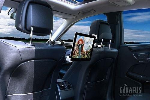 Girafus relax h3 supporto auto universale per tablet con 9 for Supporto auto tablet 7 pollici