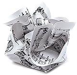 Paperweight Music Sheet