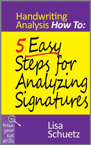 Today's Kindle Daily Deal —  Monday, October 29  — Save 80% on Trish Jensen's 'Rompingly Funny' Romance,  Against His Will, plus … Lisa Schuetz's 5 Easy Steps for Analyzing Signatures: Handwriting Analysis How To (Today's Sponsor)