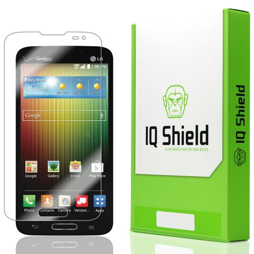Iq Shield Liquidskin - Lg Lucid 3 Screen Protector With Lifetime Replacement Warranty - High Definition (Hd) Ultra Clear Smart Film - Premium Protective Screen Guard - Extremely Smooth / Self-Healing / Bubble-Free Shield - Kit Comes In Frustration-Free Re