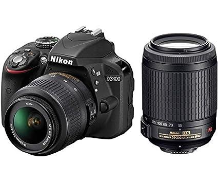 Nikon D3300 18/55 NO VR Y 55/200VR