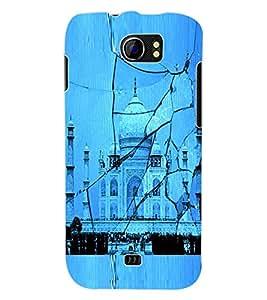 ColourCraft Taj Mahal Back Case Cover for MICROMAX CANVAS 2 A110