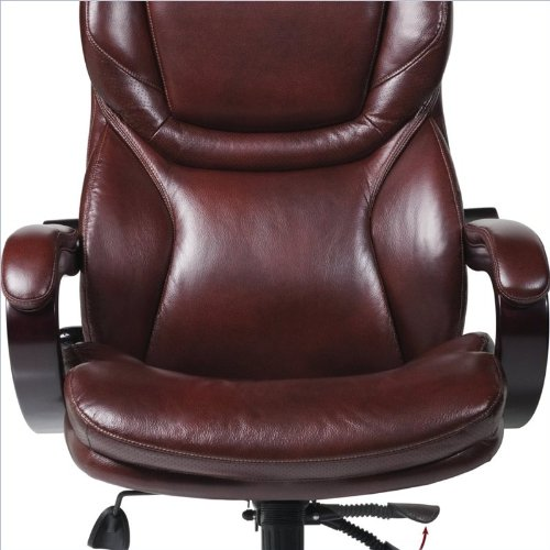 Serta Eco-friendly Bonded Leather Executive Big & Tall Offic