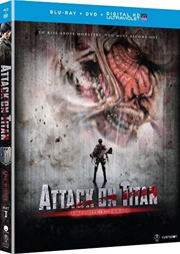 Attack on Titan Movie: Part 1 (Blu-ray/DVD Combo)