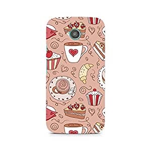 Ebby Cute Cakes Premium Printed Case For Moto E2