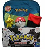 Pokemon Black & White Ashs Travel Pack Costume Gift Set Backpack