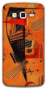 The Racoon Lean Capricious - Kandinsky hard plastic printed back case / cover for Samsung Galaxy Grand 2