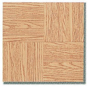 45 Pieces 12X12 Vinyl Stick-On Tiles Whitney Varied Oak Parquet Self Adhesive Flooring RT2294