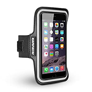 Caseflex iPhone 6 Armband - Adjustable Reflective Sports Band With Key Holder