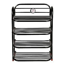NHR Iron Folding Shoe Rack (4 Shelf)