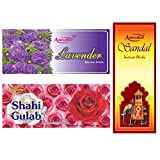 Amrutha Aromatics Assorted Incense Sticks 100G (Pack Of 3 ) - B00T9PAODA