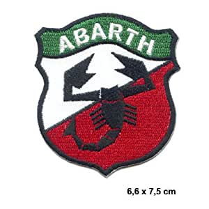Amazon.com: 3-Pack ABARTH FIAT Lancia Tuning Racing Patch Sew Iron on