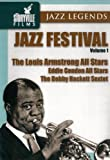 echange, troc Louis Armstrong, Eddie Condon, Bobby Hackett - Jazz Festival Vol. 1 - The Louis Armstrong All Stars [Import anglais]