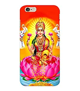 ColourCraft Maa Laxmi Design Back Case Cover for APPLE IPHONE 6 PLUS