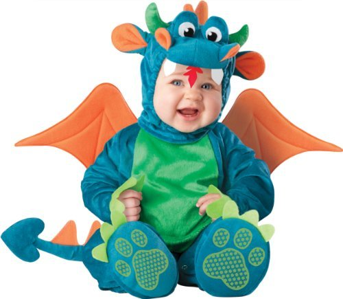 InCharacter Unisex-baby Newborn Dragon Costume