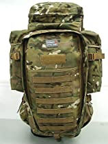 Airsoft 9.11 Tactical Full Gear Rifle Combo Backpack Multi Camo