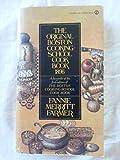 The Original Boston Cooking School Cookbook 1896 (Signet)