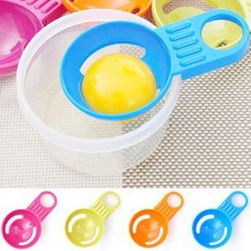 Simple Kitchen Cooking Gadget Sieve Tool Egg Yolk Egg Separator