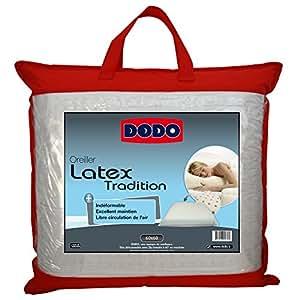 Dodo 60080.606 Oreiller Ergonomique Latex 60 cm x 60 cm