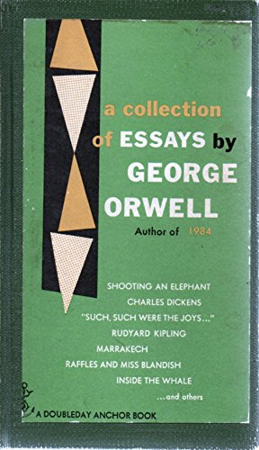 george orwell a collection of essays summary 1984 by george orwell, summary essays: over 180,000 1984 by george orwell, summary essays, 1984 by george orwell, summary term papers, 1984 by george orwell, summary research paper, book reports 184 990 essays, term and research papers available for unlimited access.