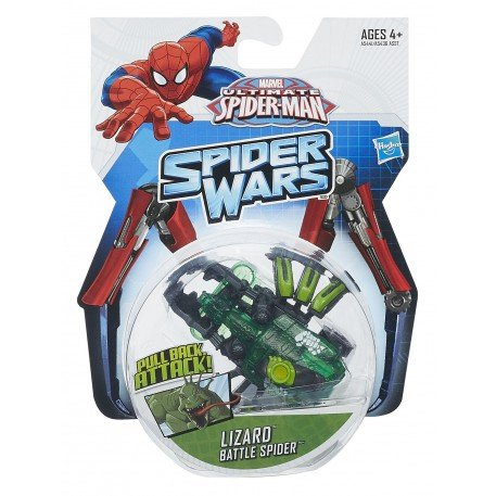 "Ultimate Spider-Man Battle Spider - ""Lizard"""