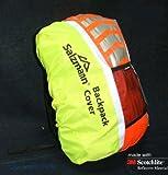 Salzmann High Viz 3M Scotchlite Waterproof Backpack Rucksack Bag Rain Cover for Cycling or Running