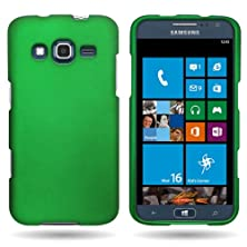 buy Hard Rubberized Plastic Case Slim Protector Cover For Samsung Ativ S Neo By Coveron® - Dark Green