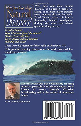 why does god allow natural disasters Natural disasters are not in themselves evil than understanding these processes as natural and with the purposes and nature of god to allow.