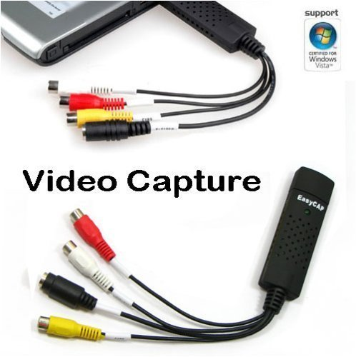 USB2.0 DV/TV/VHS/DVD Camcorders Video Audio Capture AV Adapter card Win 2000, XP, vista compatible H35
