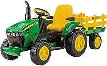 Comprar Peg Perego OR0047 - John Deere, tractor eléctrico con remolque, 12V
