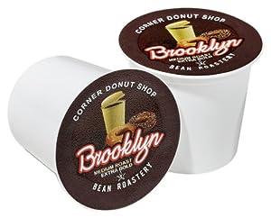 Brooklyn Bean Roastery Coffee, Corner Donut Shop, Single Serve Cup for Keurig K-Cup Brewers, 36-Count